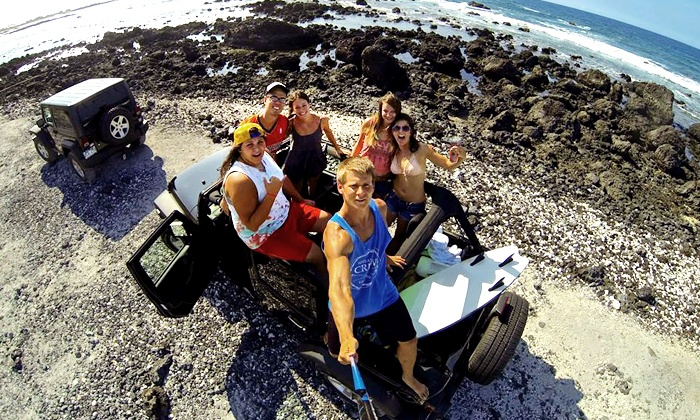 Epic! Tours - Honolulu: Hilo or Kona Jeep Adventure Tour for Two or Four from Epic! Tours (50% Off)