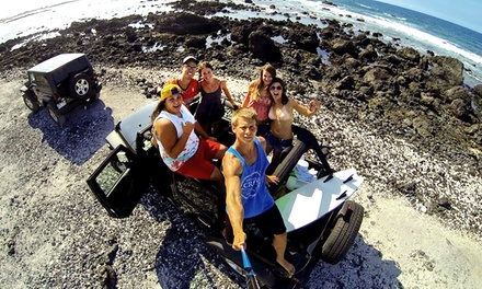 Hilo or Kona Jeep Adventure Tour for Two or Four from Epic! Tours (50% Off)