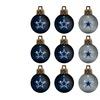Mini NFL Ornaments (12-Pack)