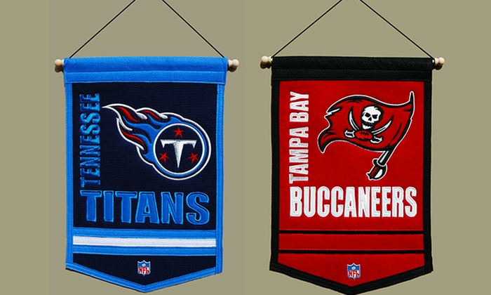 NFL Traditions Banners: $21.99 for an NFL Traditions Banner ($27 List Price). Multiple Teams Available. Free Shipping and Returns.