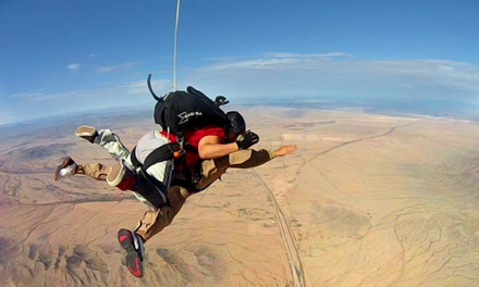 Tandem Skydive Package for One, Two or Four with DVD, Photos, and T-Shirt at Skydive Phoenix (Up to 44% Off)