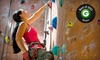 Boston Rock Gym - Mishawum: Introductory Climbing Package, 5 Kids' Climbing Classes, or 10 Gym Visits at Boston Rock Gym (Up to 57% Off)