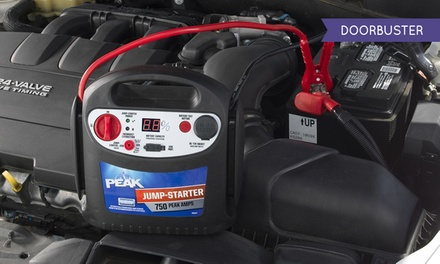 Peak 750-Amp Jump Starter with AC Charger