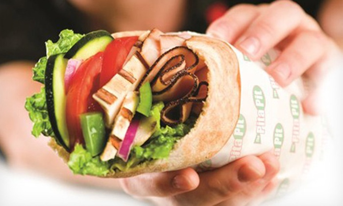 Pita Pit - Mount Pleasant: Pita Sandwiches and Smoothies at Pita Pit (Up to Half Off). Two Options Available.