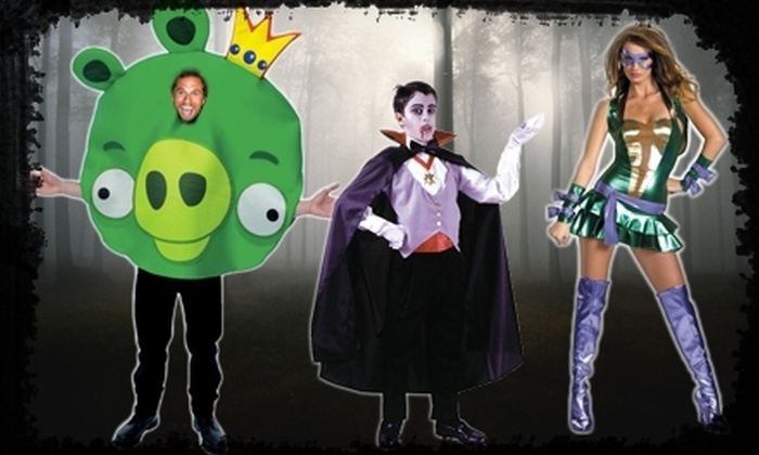 Halloween Express - Charlotte: $15 for $30 Worth of Costumes and Accessories at Halloween Express