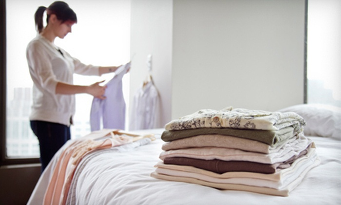 Luna Laundry - Santa Fe: $49 for One Month of Weekly Laundry Service with Pickup and Delivery from Luna Laundry ($100 Value)