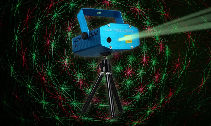 Mini Laser Stage Lighting Projector with Tripod and Voice-Control & Mini Laser Stage Lighting Projector | Groupon azcodes.com