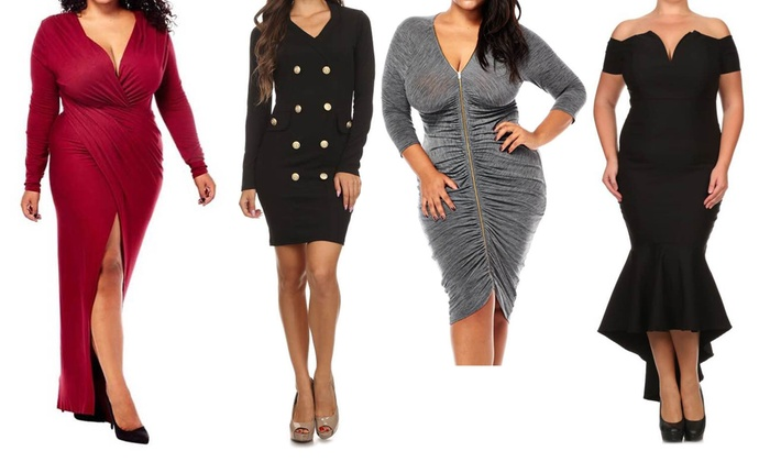 Fashionista LLC - In-Store Pickup: Plus Size Dresses and Pants with In-Store Pickup at Glam Fashion Lovee (Up to 40% Off). 15 Options Available.