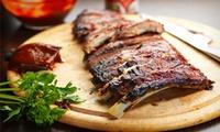 Spareribs all-you-can-eat mit Pommes frites und Coleslaw für 2 oder 4 Personen im arcona Mo.Hotel (bis zu 58% sparen*)