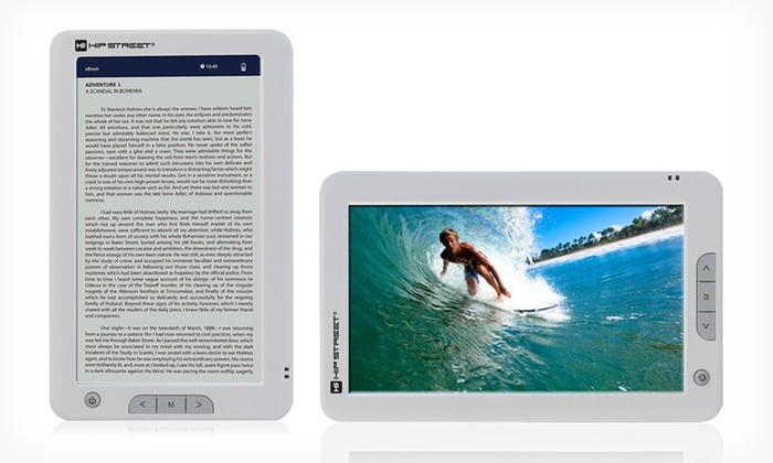 "Hipstreet 7"" HD Multimedia E-Reader: $54.99 for a Hipstreet 7"" HD Multimedia E-Reader ($89.99 List Price)"