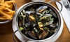 Belgo - Multiple Locations: Pot of Mussels with Side and Drink at Belgo for Two, Multiple Locations (Up to 50% Off)