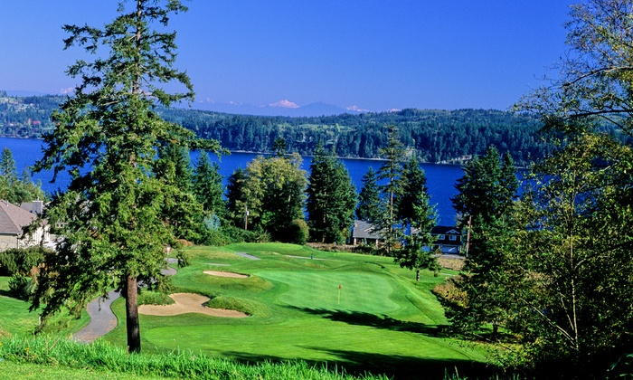 Holmes Harbor Golf Course - Whidbey Island: 18 Holes of Golf with Cart Rental for Two or Four at Holmes Harbor Golf Course (Up to 47% Off)