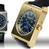 Lombard & Cie Men's Moon Phase Multifunction Watches