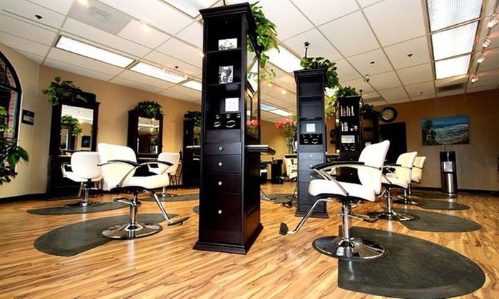 EnVus Salon & Spa - Pacific Beach: Up to 55% Off Hair Packages at EnVus Salon & Spa