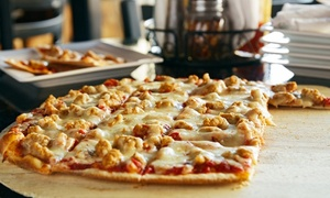 Crazy Bears Pizza: Lunch for Two or Pizza Meal for Two or Four at Crazy Bears Pizza (Up to 49% Off)