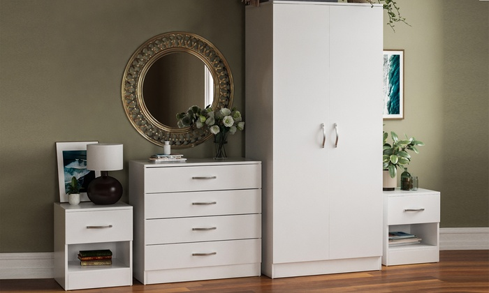 Riano Bedroom Furniture Range from £19.99 (55% OFF)