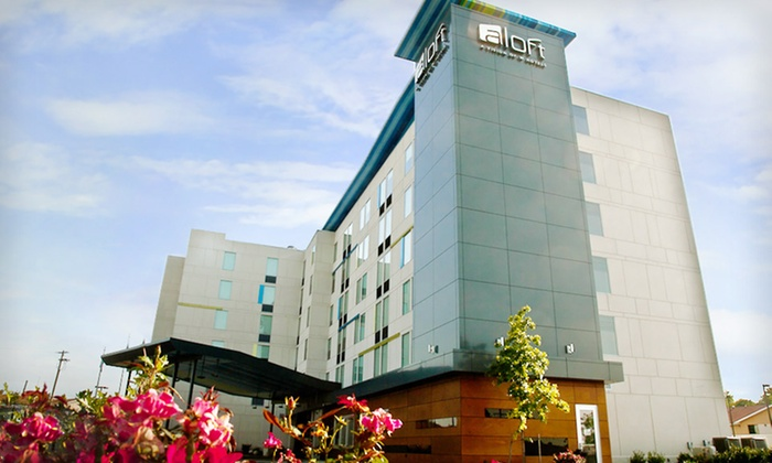 Aloft Winchester - Winchester: One- or Two-Night Stay for Two with Breakfast Credit at Aloft Winchester in Virginia