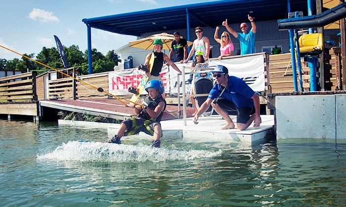 Orlando Cable Park - Orlando: Waterskiing or Wakeboarding Lesson with Four-Hour Riding Pass at Orlando Cable Park (Up to 44% Value)