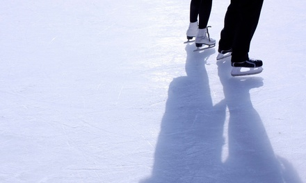 $10 for Ice Skating with Skate Rental for Two at Dr. Pepper StarCenter (a $ Value)