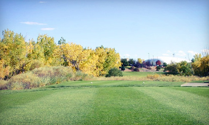 Family Sports Golf Course - Centennial: 9-Hole Round with Cart and Range Balls for Two or Four at Family Sports Golf Course in Centennial (Up to 50% Off)