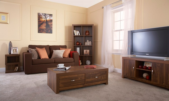 Groupon Goods Global GmbH: Portland Acacia Living Room Furniture In Choice  Of Models From ... Part 58