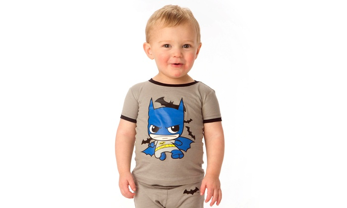DC Comics Kids' Superhero PJs | Groupon Goods