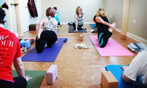 Advanced Holistic Health: 10 or 20 Semi-Private Yoga Classes at Advanced Holistic Health (Up to 73% Off)