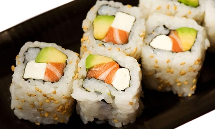 Asian Food at Sannie Chinese & Japanese Cuisine (Up to 53% Off). Two Options Available.