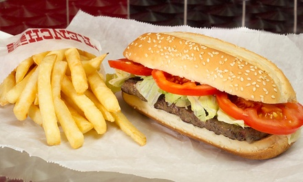 $7 for Steak Junior Burgers and Fries for Two at Char-Grill ($13.80 Value)