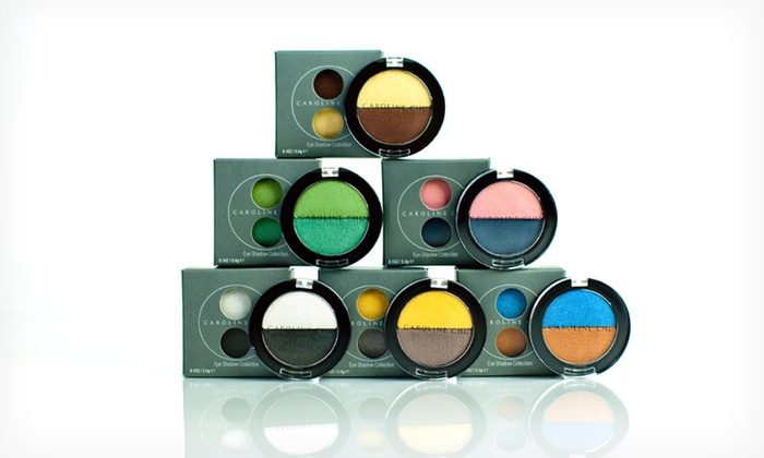 $18.99 for Caroline Chu Eye-Shadow Duo Set. Multiple Color Duos Available. Free Shipping