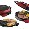 George Foreman 360 Grill with Waffle-Plate Insert