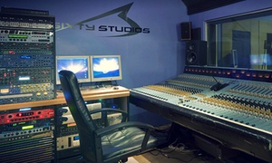 3Sixty Studios: Studio Recording Session from £22 at 3Sixty Studios (Up to 54% Off)