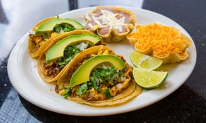 Los Arcos Mexican Grill-Palatine: Mexican Dinner for Two or Four at Los Arcos Mexican Grill (Up to 33% Off)