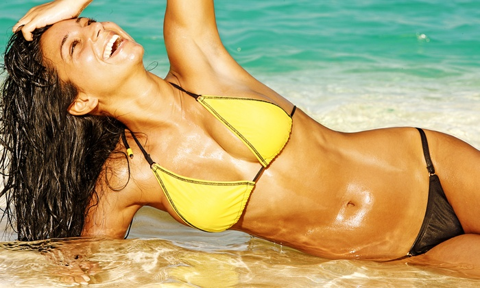 Novopelle - Multiple Locations: $99 for Bikini-Line Laser Hair-Removal Session, Express Facial, and Body Wrap at Novopelle ($217 Value)