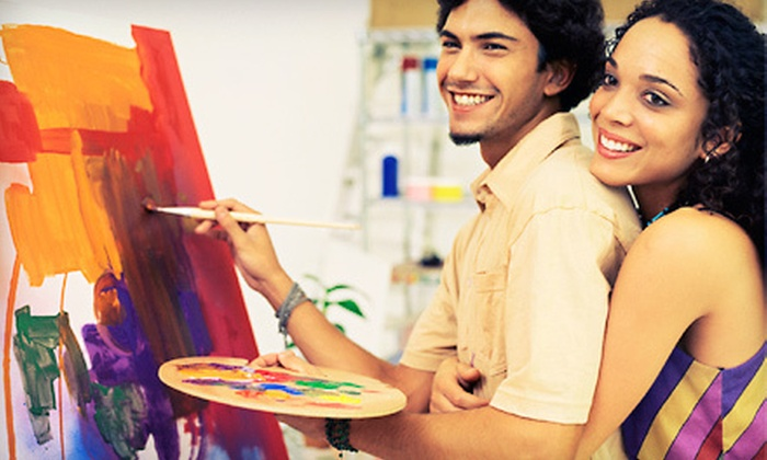 Corks And Canvases - Murrysville: Two-Hour BYOB Painting Class for One or Two at Corks and Canvases (Up to 51% Off)