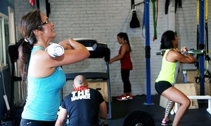 One Republic Fitness: 10, 15, or 20 Crossfitness Classes or One Month of Unlimited Crossfitness at One Republic Fitness (Up to 88% Off)