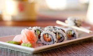 Wok & Sushi Express Unimev: Desde $99 por tabla de 12 o 24 piezas de sushi en Wok & Sushi Express Unimev