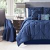 Lazaro 6 Piece Reversible Comforter Set with Coverlet