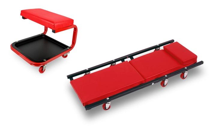 Sgabello Officina Con Ruote : Sgabello o carrello per officina groupon goods