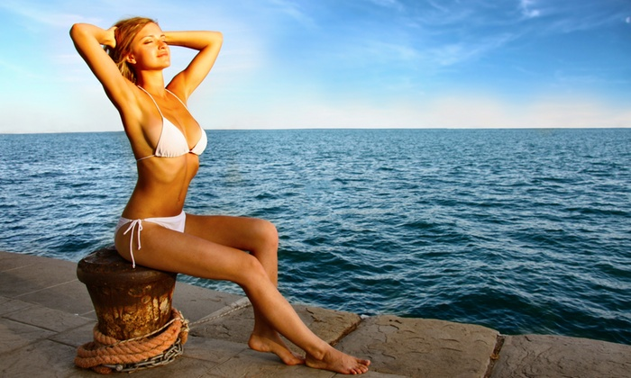 Brazilian Liquid Sun Tan - Houston: A Custom Airbrush Tanning Session at Brazilian Liquid Sun Tan  (55% Off)