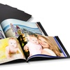 InLeder gebundenes Fotobuch