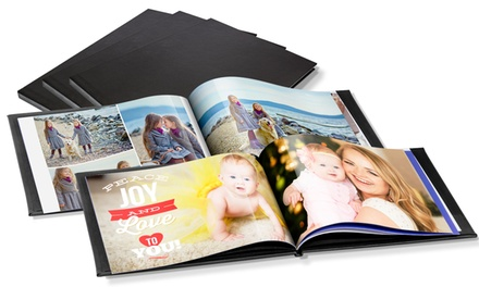 1 o 2 foto-álbumes paisaje tamaño A4 o A5 con tapa de cuero, de 20, 40 o 60 páginas desde 1,99 € con Printer Pix