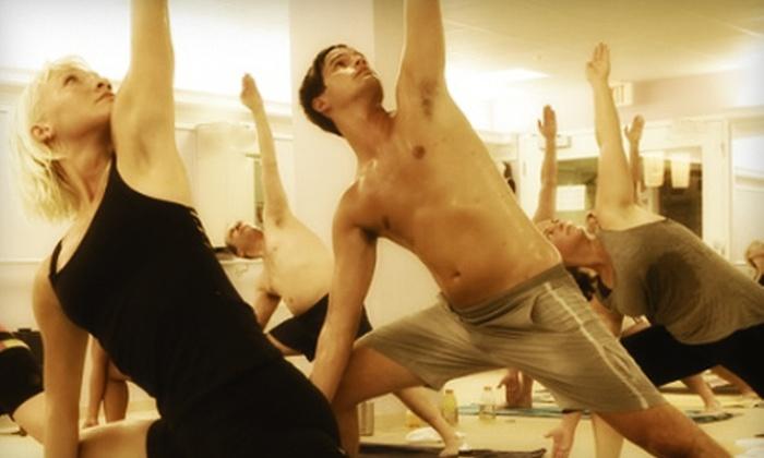 Bikram Yoga Mid Atlantic - Carney: 10 or 20 Classes at Bikram Yoga Mid Atlantic (Up to 80% Off)