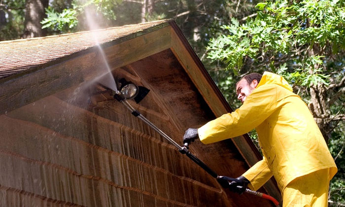 Dorman's Power Washing - Long Island: Exterior Power Washing for a One- or Two-Story House from Dorman's Power Washing (Up to 61% Off)