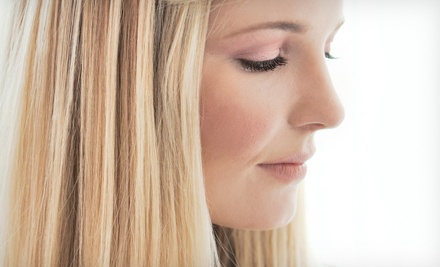 Women's Haircut with Options for Partial or Full Highlights at Head First Hair & Tanning Salon (Up to 57% Off)