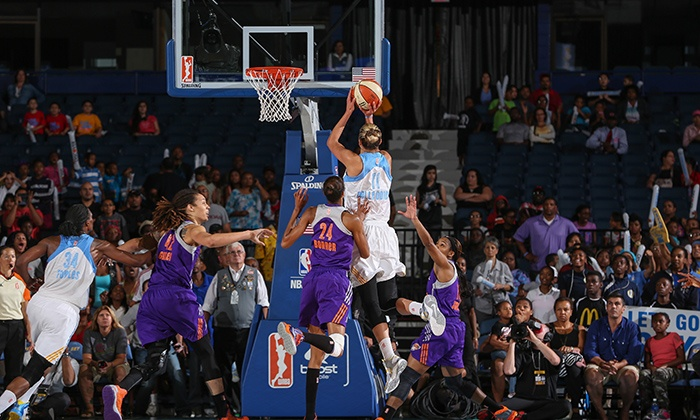 Chicago Sky - Allstate Arena: Chicago Sky WNBA Game at Allstate Arena  (Up to 47% Off). Six Games and Two Seating Options Available.