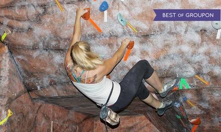 Up to 53% Off Indoor Rock Climbing