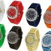 Geneva Women's Large Face Watch Set (12-Pack)