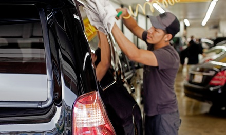 Express or Bumper-to-Bumper Detail with Voucher for a Platinum Car Wash (Up to 42% Off)