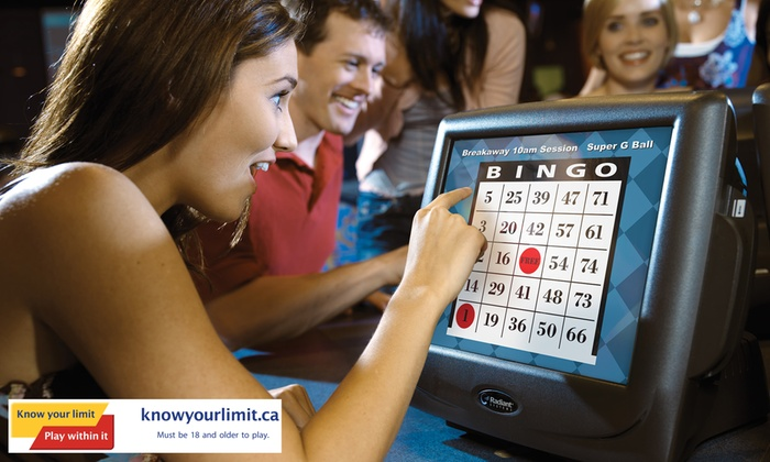 Rama Gaming Centre - Meadowvale: C$15 for a Bingo Package at Rama Gaming Centre (Up to C$30 Value)
